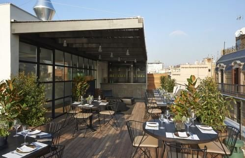 The Serras Hotel Barcelona – Rooftop